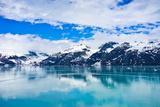 Glacier Bay in Mountains in Alaska  United States