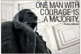 Thomas Jefferson Courage Quote