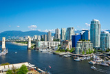 Beautiful View of Vancouver  British Columbia  Canada