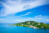 Beautiful View of Saint Lucia  Caribbean Islands