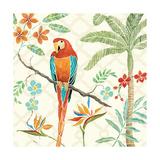 Paradis tropicalII Reproduction d'art par Daphne Brissonnet