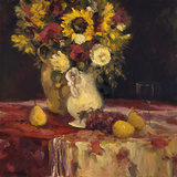 Sunflowers and Wine