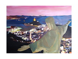 Rio De Janeiro With Christ The Redeemer II