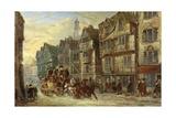 Wych Street  Strand  London  Days of Hogarth