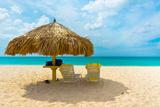Beautiful Beach in Aruba  Caribbean Islands  Lesser Antilles