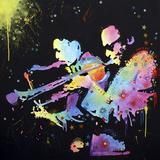 Miles Coltrane Giclée par Dean Russo