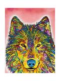 Loups Giclée par Dean Russo