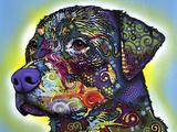The Rottweiler Giclée par Dean Russo