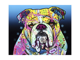 The Bulldog Giclée par Dean Russo