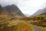 Pass of Glencoe - Overcast Day Scotland's Highland Spring