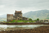 Eilean Donan Castle on a Cloudy Day  Scotland UK