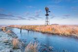 Old Windmill and Bridge