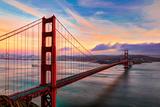 Golden Gate Sunset Papier Photo par (c) Swapan Jha