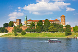 Beautiful Medieval Wawel Castle  Cracow  Poland