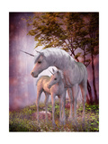 Unicorn Mare and Foal