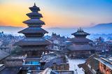 Dawn at Bhaktapur  Nepal