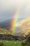 A Rainbow between Lonsdale and Blease Fell
