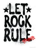 Aerosmith - Let Rock Rule Graffiti
