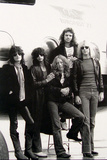 Aerosmith - Eurofest Jet 1977 (Black and White)