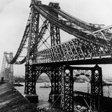 Williamsburg Bridge under Construction