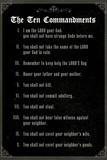 The Ten Commandments - Classic Poster