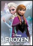 Frozen - Anna & Elsa Foil Poster