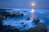 Dawn Moonset at Garrpata State Park