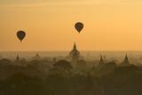 Bagan Pagodas in the Morning