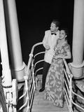 Couple in Evening Wear