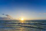 Mexico  Yucatan  Riviera Maya  Cancun  Seascape at Sunset