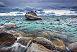 Storm  Lake Tahoe