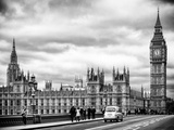 Palace of Westminster and Big Ben - Westminster Bridge - London - England - United Kingdom