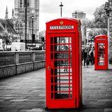 Red Telephone Booths - London - UK - England - United Kingdom - Europe