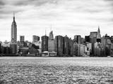 Landscape View Manhattan with the Empire State Building and Chrysler Building - NYC