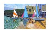 Sailing School  Calella De Palafrugall  Costa Brava  Spain  2014