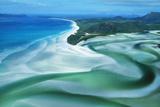 Australia Whitehaven Beach  Whitsunday Island