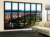 Wall Mural - Window View - Central Park - Manhattan - New York