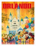 Orlando  Florida  USA  Walt Disney World Resort  National Airlines