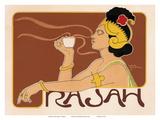 Rajah Coffee Art Nouveau, La Belle Époque Reproduction d'art par Henri Meunier