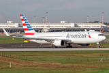 An American Airlines Boeing 767 at Milano Malpensa Airport  Italy