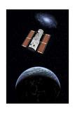 The Hubble Space Telescope in Earth Orbit