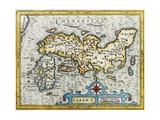 18Th Century Map of Japan Giclée