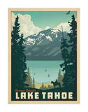 Lac Tahoe Reproduction d'art par Anderson Design Group
