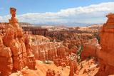 Bryce Canyon National Park Landscape  Utah  United States Nature Scene Showing Beautiful Hoodoos