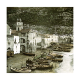 Sorrento (Italy)  the Beach  Circa 1860