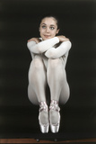 Oriella Dorella Dressed as a Ballet Dancer