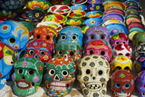Handicrafts  Masks for Sale  Cancun  Quintana Roo  Mexico  North America
