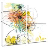 Orange Botanica Gallery-Wrapped Canvas