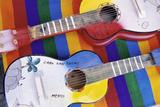 Colorful Souvenir Guitars