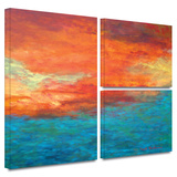 Lake Reflections II Gallery-Wrapped Canvas
